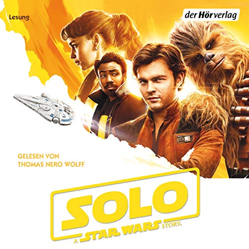 Solo - A Star Wars Story cover art