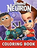 Jimmy Neutron Coloring Book: Fun coloring book suitable for all ages to increase creativity, reduce pressure. – 50+ GIANT Great Pages with Premium Quality Images.