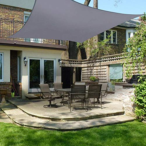 Triángulo Sun Shade Sal impermeable, protección UV Sun Shade Shade Sal Canopy Tent for Outdoor Patio Garden Swimming Pool