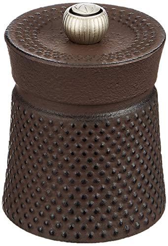 Peugeot Bali Fonte Manuelle Pfeffermühle, Klassische Mahlgradeinstellung, Höhe: 8 cm, Gusseisen, Braun, 36638