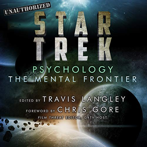 Star Trek Psychology audiobook cover art