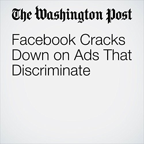 Facebook Cracks Down on Ads That Discriminate copertina
