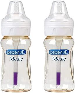 Biberon bebéDue Medic Doble 260 ml