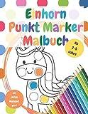 Punkt Marker Malbuch: Ausmalbuch für Kinder von 2-5 Jahren. Ideal für die Benutzung mit Punktmarkern, Klebepunkten oder zum einfachen ausmalen. Ein perfektes Geschenk für Jungs uns Mädchen.