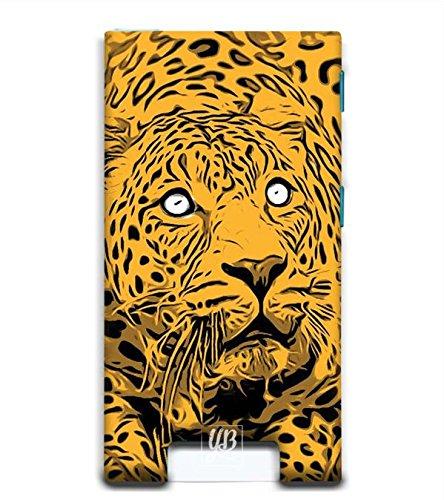 YuBingo Designer Printed Plastic Mobile Back Case Cover Panel for Apple iPod Nano 7 (Leopard Looking Up)