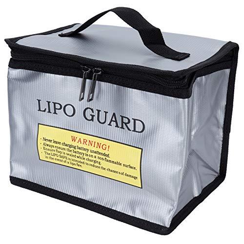 GAESHOW Lipo Battery Safe Bag Pouch Borsa portatile a prova di esplosione ignifuga per la protezione della batteria