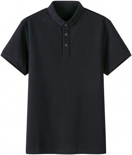 ZAIYI Shit 3 Couleurs Multi Taille Col Court T-Shirt Hommes Chemisier Boutonné Chemise Homme