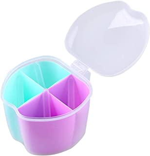 Pots à épices en plastique avec couvercle - Organisateur de rangement pour sucre, poivre - Boîtes à condiments pour la cui...