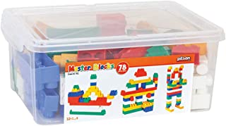 Pilsan Master Building Blocks (78 Pieces)