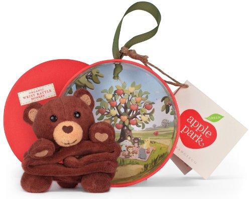 Apple Park, hochet Ours pour poupée en boîte (60tm030)