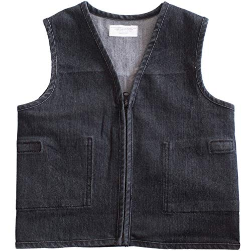 Stretch Denim Weighted Vest by Fun and Function – Provides Gentle Compression and Weight for Sensory Integration – Weights Included – Ages 5+