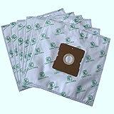 Paquete de 20 bolsas de filtro de polvo universal Clean Fairy compatible con AFK Samsung DAEWOO KENWOOD LG SEVERIN TRISA Aspiradoras dimensiones de cartón 109x99mm
