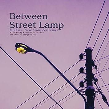 Streetlight between lights