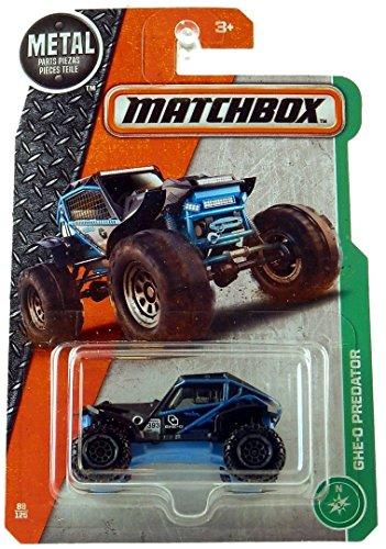 MATCHBOX CAR BLUE GHE-O PREDATOR 393 1/64 Scale Diecast 4x4 VEHICLE