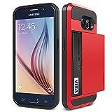 iPhone 6s / 6 ケース カード 収納 VERUS Damda Slide 背面 カードケース 耐衝撃 二重構造 衝撃 吸収 カバー [ アイフォン 6s / 6 ] ダークシルバー