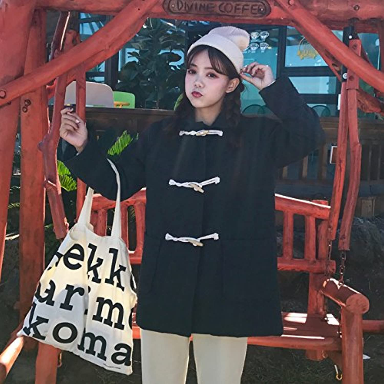 Xuanku Herbst Und Und Und Winter Dicke Warme Jacke Weibliche Haar Ist Lose, Langarm Hörner Für Wild College Wind Casual Shirt B076FPZJBH  Qualität 808aa9