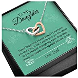 Daughter Necklace, Necklace Birthday Gift,...