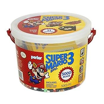 Perler Craft Bead Bucket Activity Kit 5003 pcs Super Mario Brothers - 80-42947