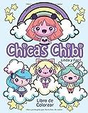 Chicas Chibi Libro de Colorear Linda y Facil: ¡Nuevo! Libro de colorear kawaii para niños de 4 a 8 a...