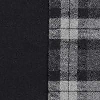 ウール【24940】【柄物】【ウール生地】 カラー 【50cm単位 切り売り】【ウールツイード】 98 ブラック/グレーチェック