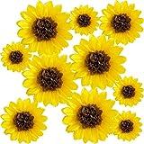 ANSOMO Sunflower Tissue Paper Pom Poms Décor...