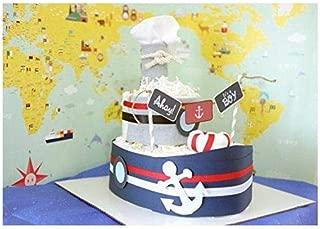 diaper cake nautical