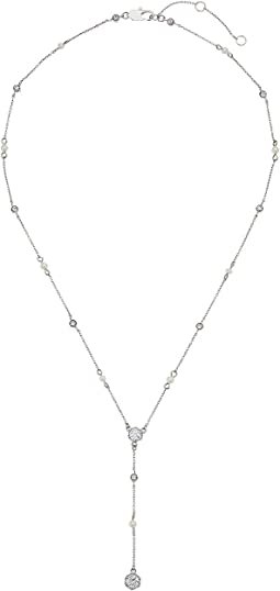 LAUREN Ralph Lauren - Headlines 18 in Crystal Y Necklace