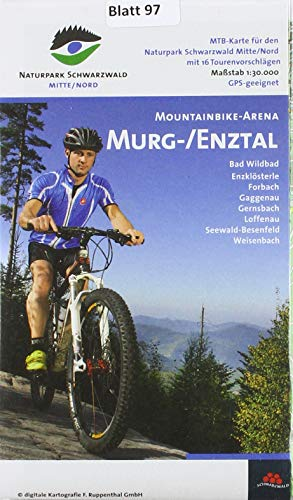 Mountainbike-Arena Murg-/Enztal: Maßstab 1:30000