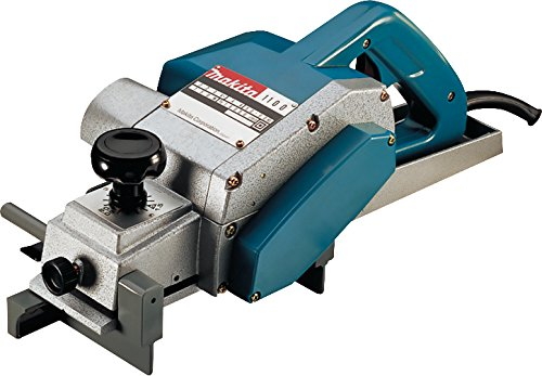 Makita 1100 1100-Cepillo 950W 16000 RPM 5.1 kg Ancho 82 mm Corte 0-3 mm, 950 W,...