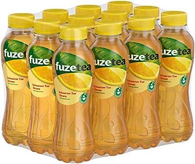 Fuze Tea Zitrone Einweg, 12er Pack (12 x 400 ml)