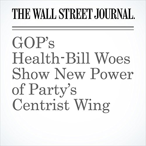 GOP's Health-Bill Woes Show New Power of Party's Centrist Wing copertina