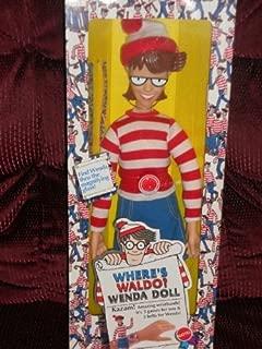 Mattel 1991 Where's Waldo Wenda Large 18 Inch Doll Toy Figure