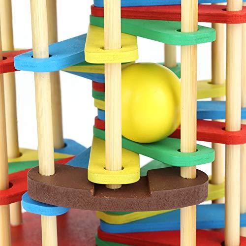 Juguete de madera, juguete preescolar de madera premium colorido, para niños, regalo, hogar, niños