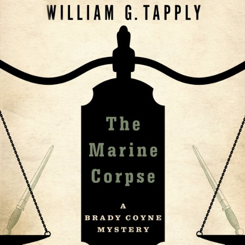 The Marine Corpse audiobook cover art