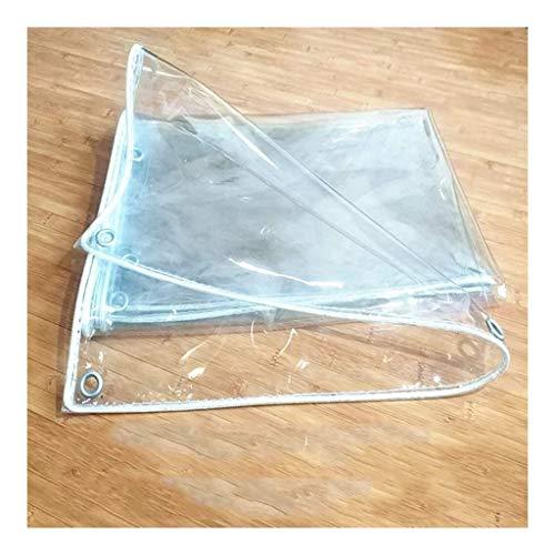 XWZH Lona universal impermeable transparente para la lluvia, para maquinaria de madera, para coche, piscina (color: transparente, tamaño: 3 x 4,5 m)