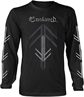 Enslaved 'Rune Cross' Long Sleeve Shirt