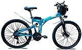 Bicicletas Eléctricas, Bici de montaña plegable eléctrico, 350W / 500W 8-15AH 26 pulgadas de moda de la bici urbana eléctrica portátil del freno de disco adecuado for Hombres Mujeres Ciudad de Tráfico