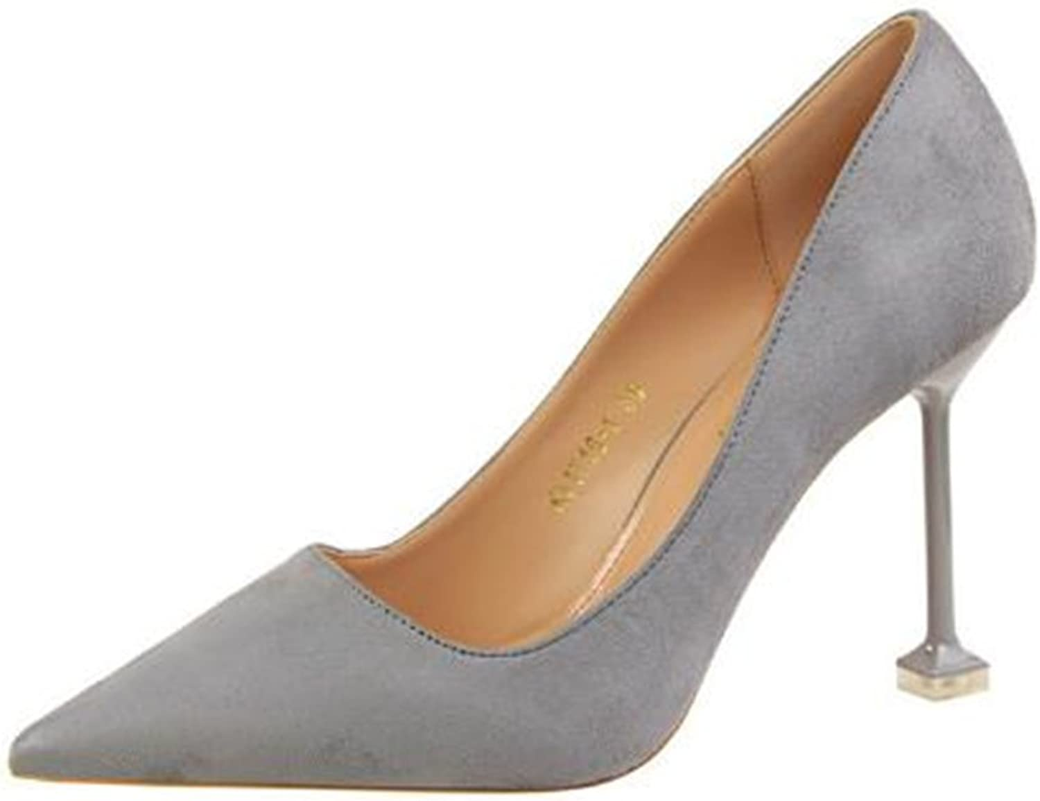 Quality.A Professional Women's shoes Elegant Stiletto Pointed Toe high Heels