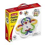 QUERCETTI-Quercetti-0132 Fantacolor Daisy básico d. 10-Juego de mosaicos, Multicolor (0132)