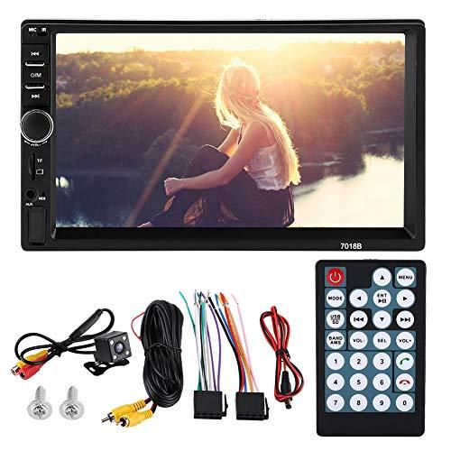 Gorgeri achteruitrijcamera, 7 inch, autoradio MP5 speler, HD-touchscreen, bluetoothverbinding, handsfree installatie, USB/TF FM AUX