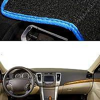 XQRYUB 車の自動ダッシュボードカバーダッシュマット、ヒュンダイNFソナタソニカ2005-2009 LHDに適合