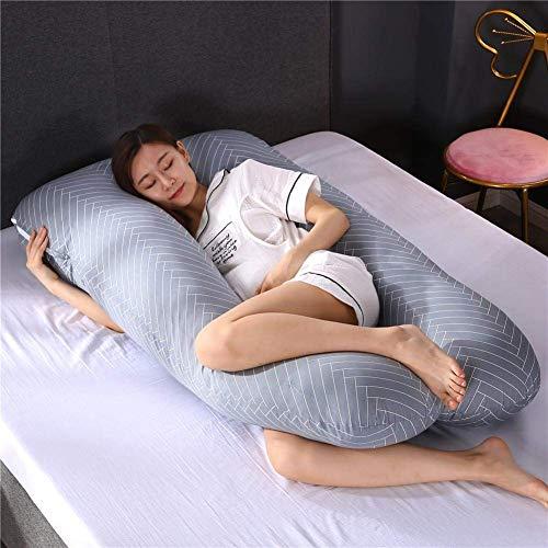 Pregnancy Body Pillows for Sleeping Full Body Pille for Improved Sleep The Best Full Body Contoured Pillow for Back, Hips, Legs, Belly 70x130cm