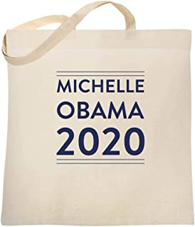 Michelle Obama 2020 For President Campaign Large Canvas Tote Bag Women