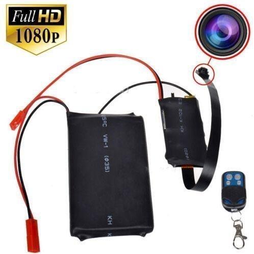 FiveSky - Minicámara de vídeo de Seguridad inalámbrica, resolución HD 1080P, DVR, Mando a Distancia