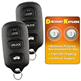 Discount Keyless Replacement Key Fob Car Remote For Toyota Avalon HYQ12BBX, HYQ12BAN (2 Pack)
