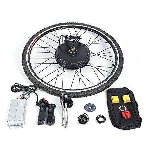 Kit de Conversión de Bicicleta Eléctrica de 28 Pulgadas Rueda delantera Electric...