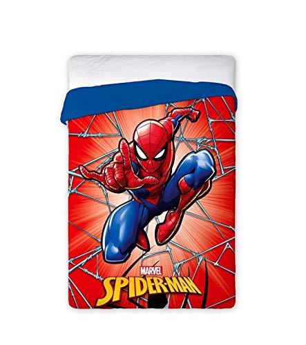 NEW IMPORT EDREDÓN Duvet NÓRDICO Disney 034 Spiderman Cama 90/105