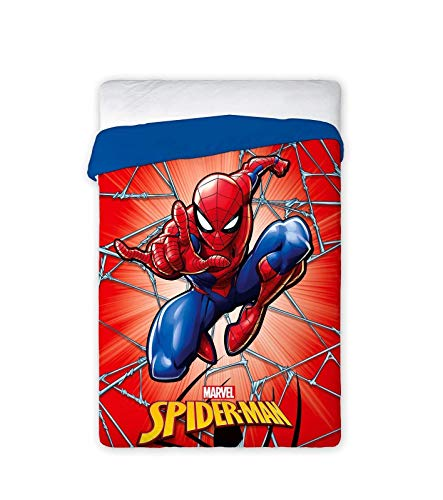 New Import Daunendecke Disney 034 Spiderman Bett 90/105