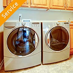 Unhook and haul away of old washer and dryer Hook up of 1 new customer-supplied dryer & washer New parts required for successful installation Please allow a 3-hour window for the work