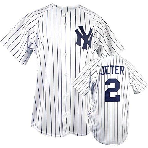 timeless design 09fd4 fc8c9 Jeter Jersey: Amazon.com